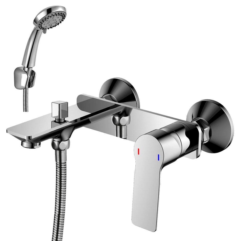 Смеситель одноручный (35мм) для ванны RS27-31