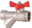 Клапан шаровой со встроенным фильтром FFB WITH FILTER