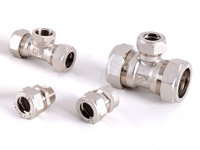 Обжимные фитинги для металлопластиковой трубы и труб PE-RT