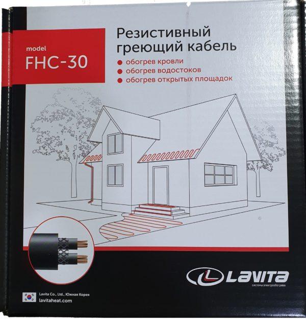 Резистивный нагревательный кабель FHC-30