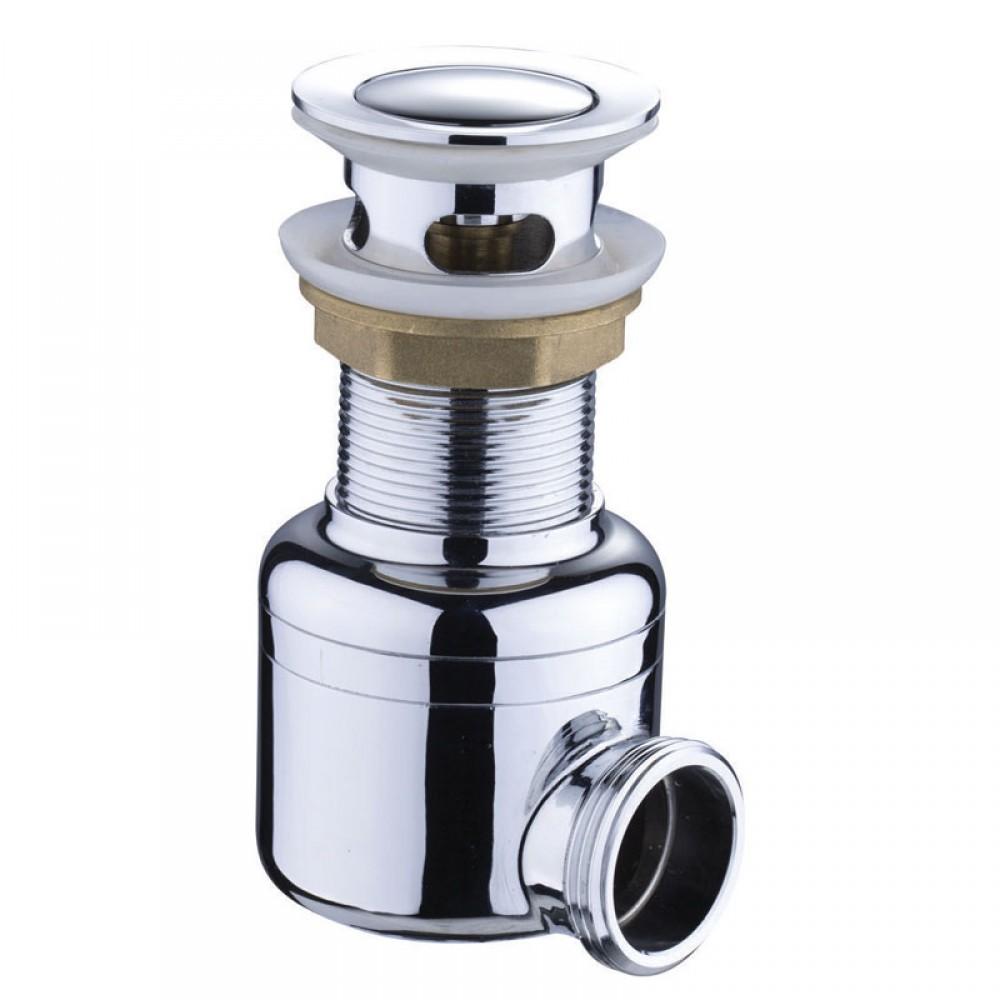 Сифон хромированный MAGdrain POP01-G (д.42, хром, магнитный клапан)